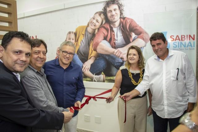 Inauguração do Espaço Sabin Sinai no Hospital Albert Sabin