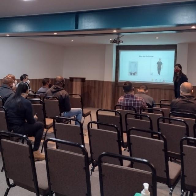 Em parceria com o SESMT, RH promove treinamento para os vigias