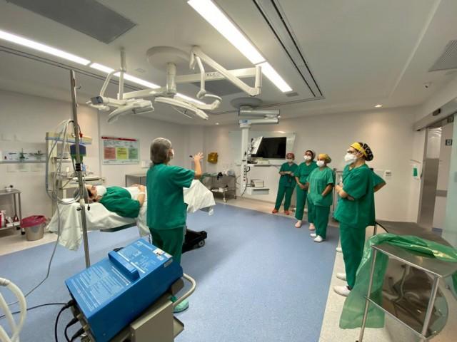 Núcleo de Segurança do paciente promove ação no Centro Cirúrgico