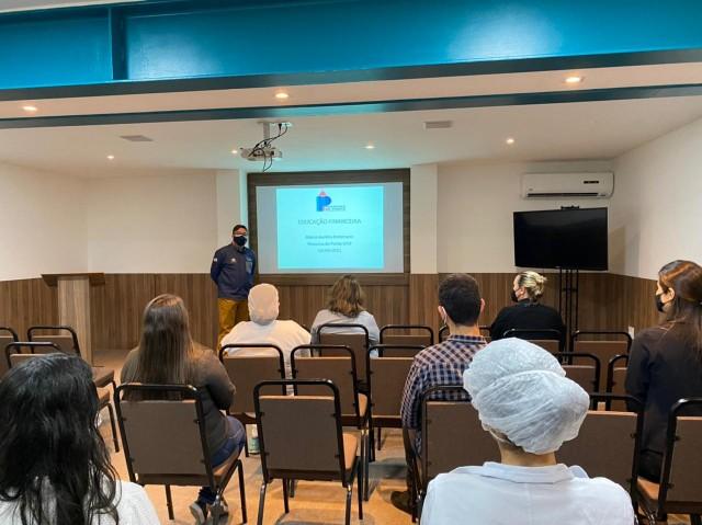 RH promove palestra de educação financeira com professor e doutor Marco Aurélio Kistemann